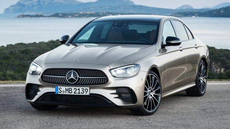 2021 Mercedes-Benz E-Class front