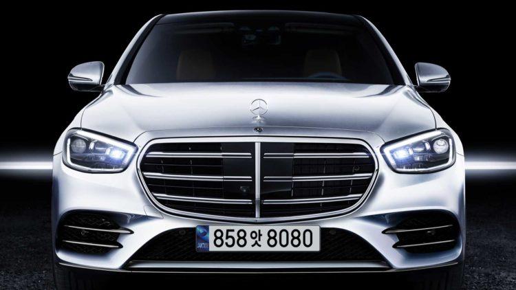 2021 Mercedes S-Class front 1