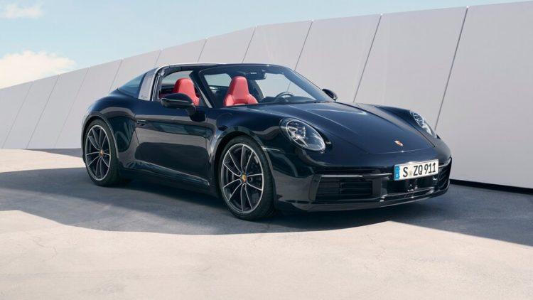 2021 Porsche 911 Targ
