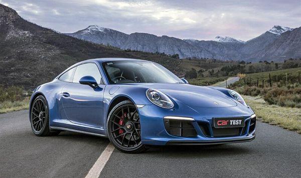 2021 Porsche 911 Targ exterior