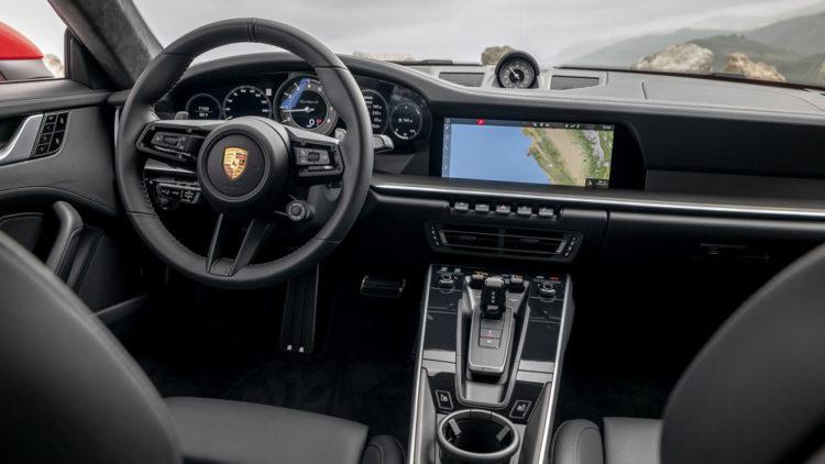 2021 Porsche 911 Targ interior 1