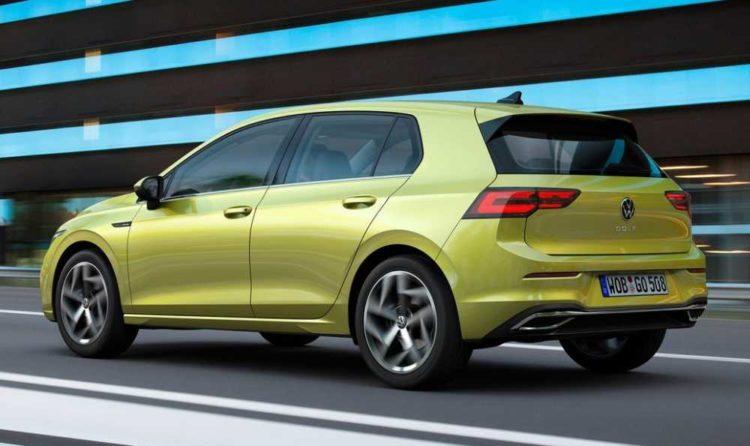 2021 Volkswagen Golf back