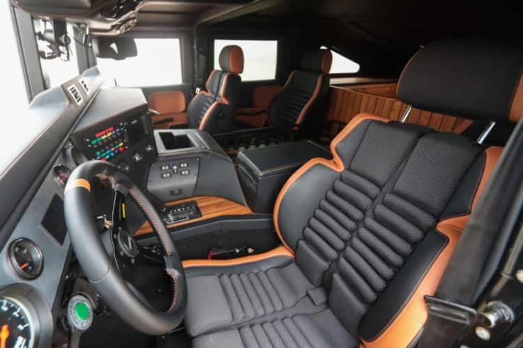 2022 GMC Hummer EV interior