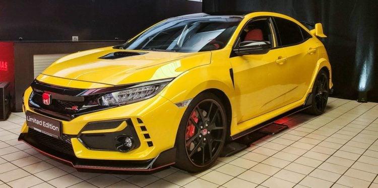 2022 Honda Civic Type R side