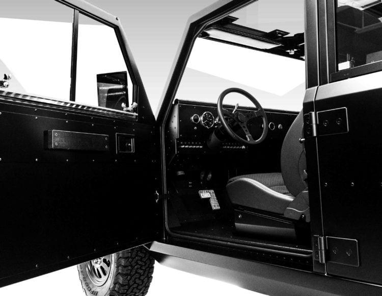 Bollinger B2 Electric Truck interior