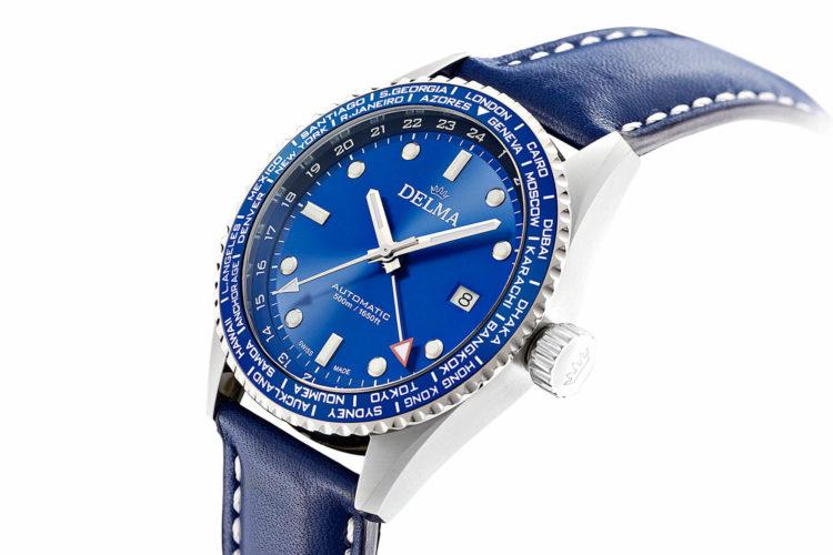 Delma Cayman Worldtimer Watch