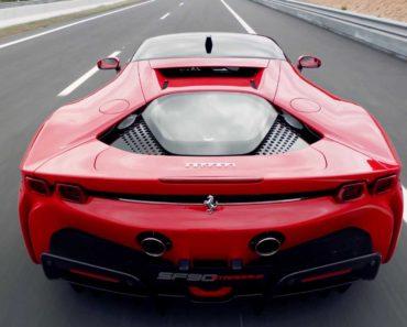 Ferrari SF90 Stradale back