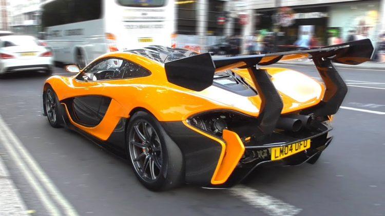 McLaren 9903 HP P1 back