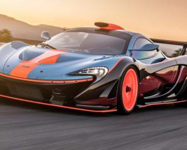 McLaren 9903 HP P1 exterior