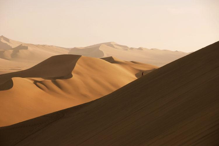 Sand Dunes at Huacachina
