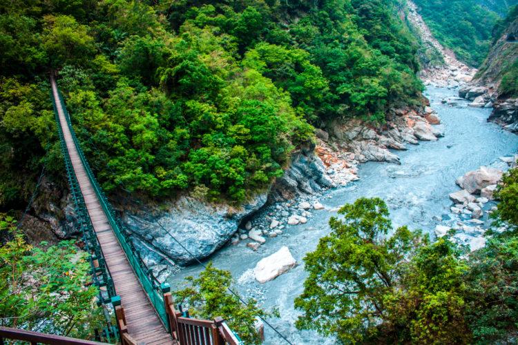 Taroko Gorge in Taroko National Park