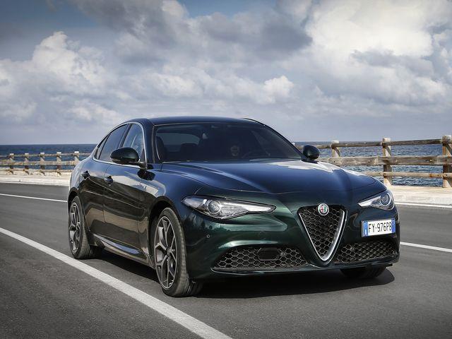 2020 Alpha Romeo Giulia exterior