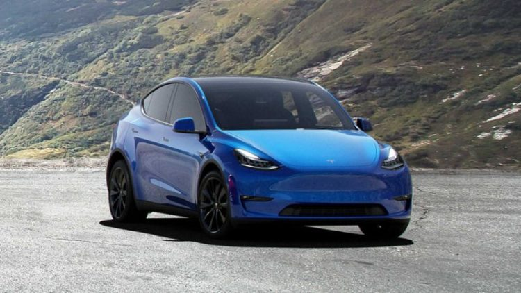 2020 Tesla Model Y front