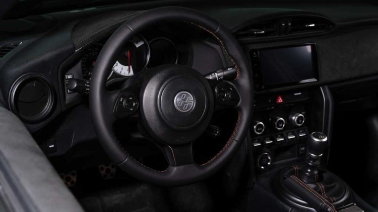 2020 Toyota 86 Hakone Edition interior 1