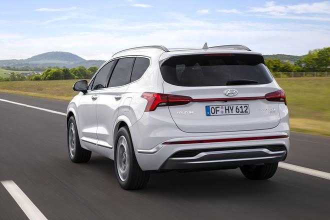 2021 Hyundai Santa Fe back