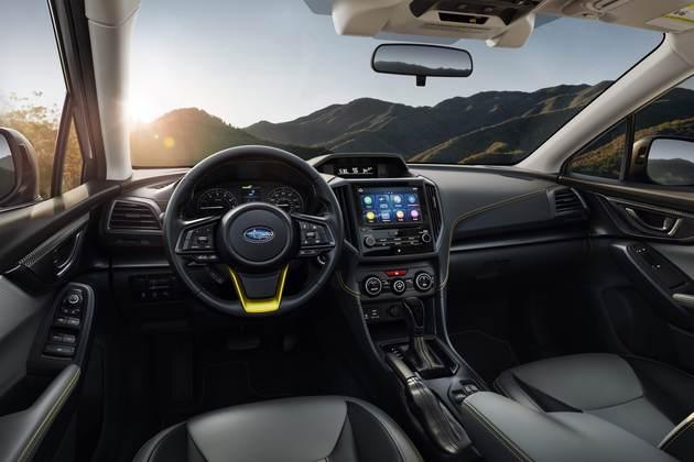 2021 Subaru Crosstrek interior 2