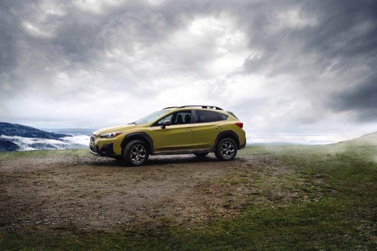 2021 Subaru Crosstrek side