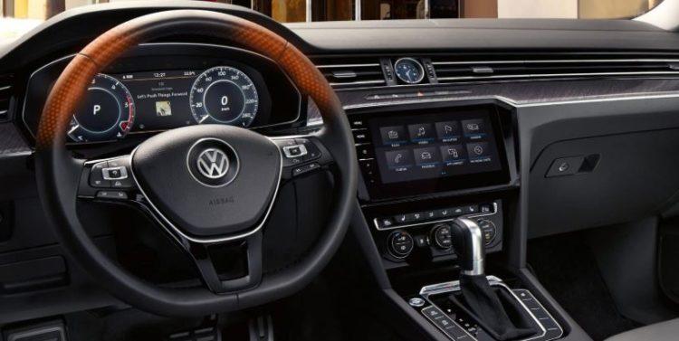 2021 Volkswagen Arteon interior