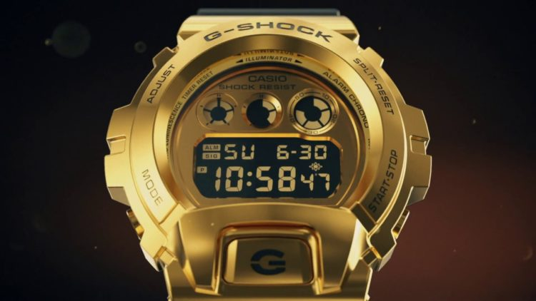 Casio G-Shock GM6900 Metal Watch