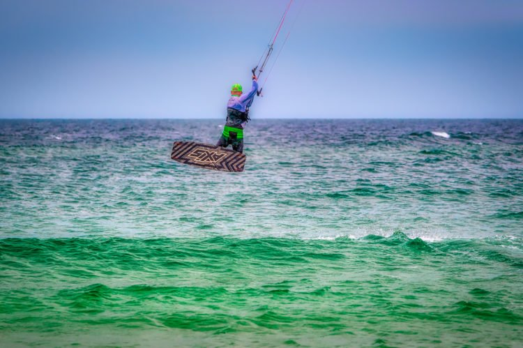 Kite Surfing at Punta Chame