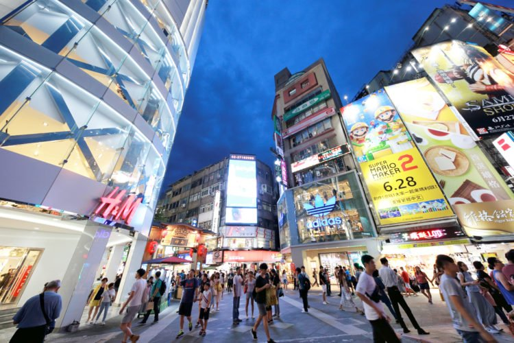 Old Town/ Ximending Shopping District
