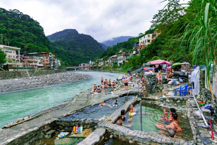 Hot Springs at Wulai