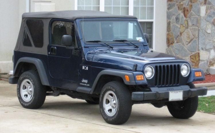 1997 Wrangler TJ model