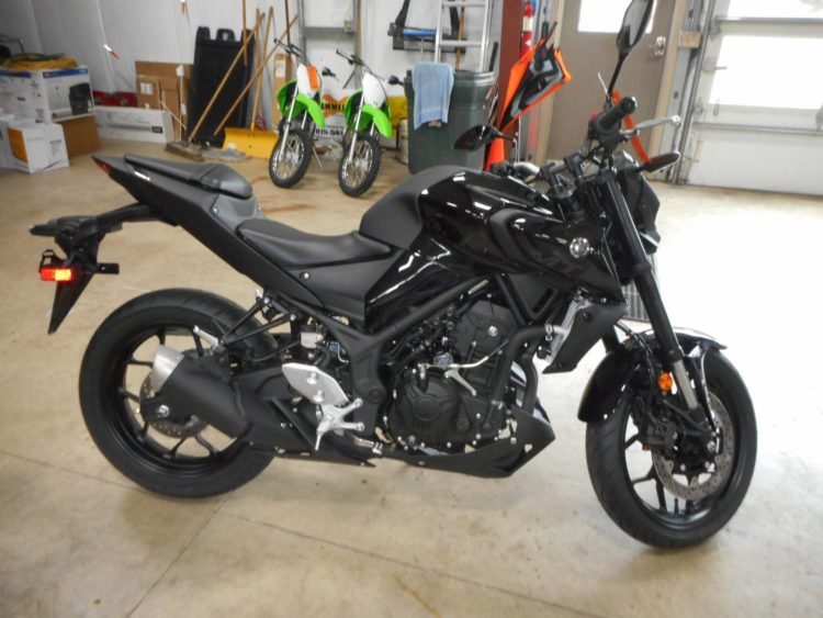 2020 Yamaha MT-03 2