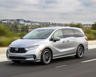 A Closer Look at The 2021 Honda Odyssey