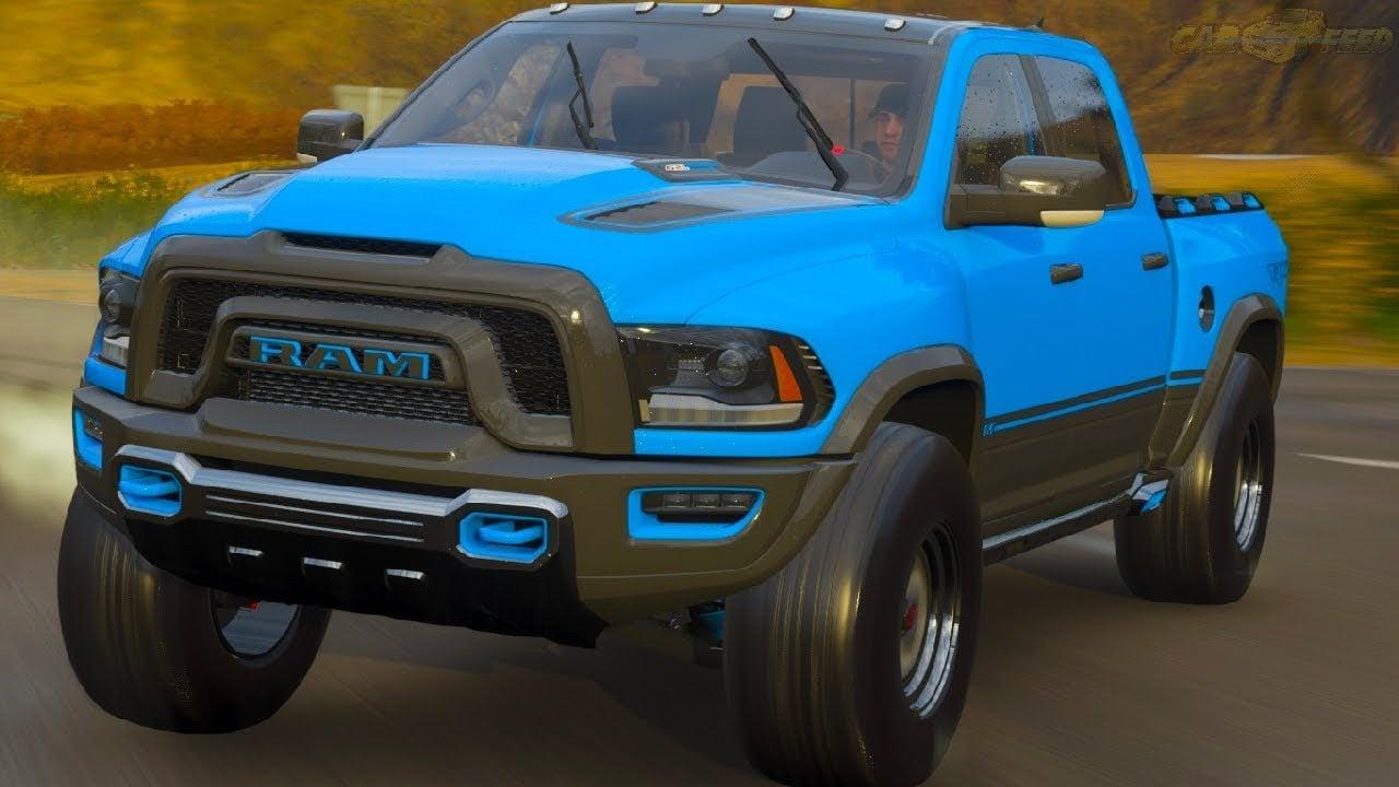 a closer look at the 2021 ram rebel trx