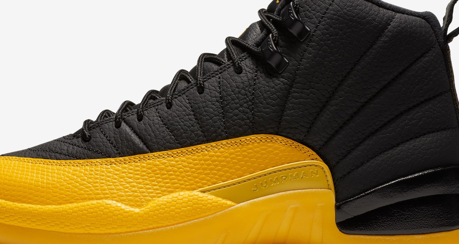 A Closer Look At The Air Jordan 12 University Gold