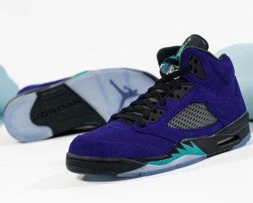 Air Jordan 5 Alternate Grape