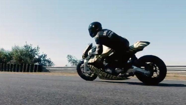 Aston Martin AMB 001 Motorcycle 2