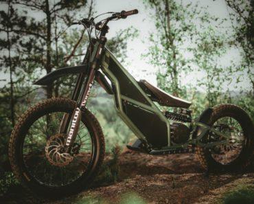 Kuberg Ranger Electric Motorcycle