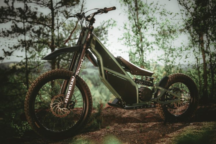 Kuberg Ranger Electric Motorcycle
