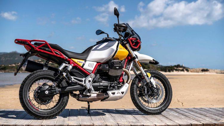 The Moto Guzzi V85 TT 1