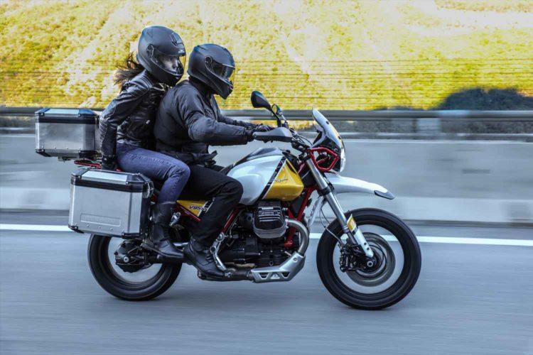 The Moto Guzzi V85 TT 2