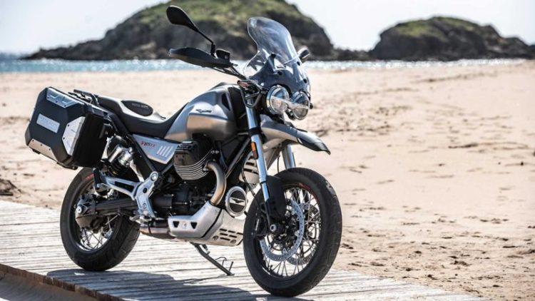 The Moto Guzzi V85 TT 3