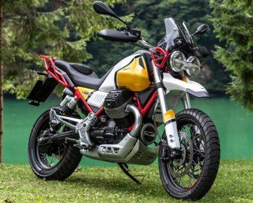 The Moto Guzzi V85 TT