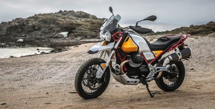 The Moto Guzzi V85 TT 4