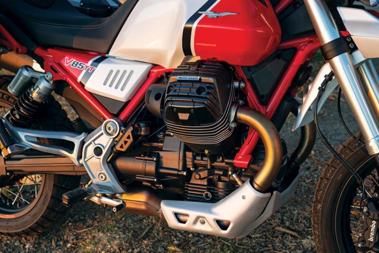 The Moto Guzzi V85 TT 5