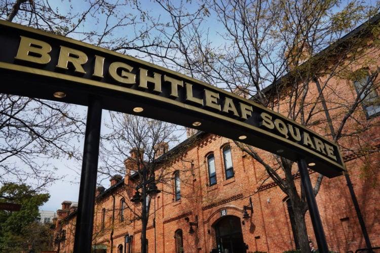 BrightleBrightleaf Squareaf Square