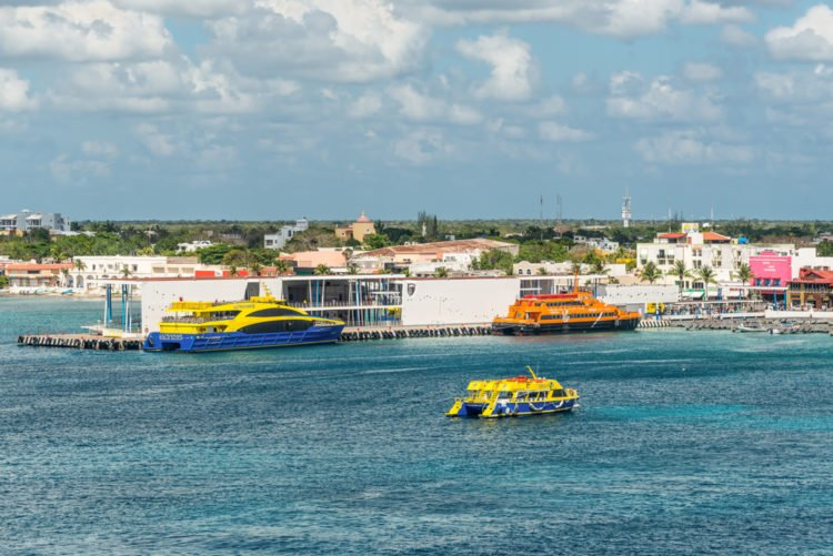 Ferry Ride to Cozumel