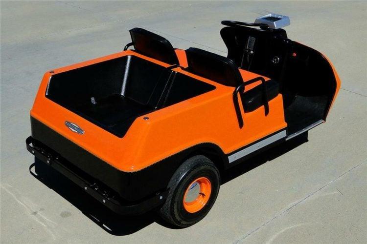 1971 Harley Davidson Barrett-Jackson Golf Cart
