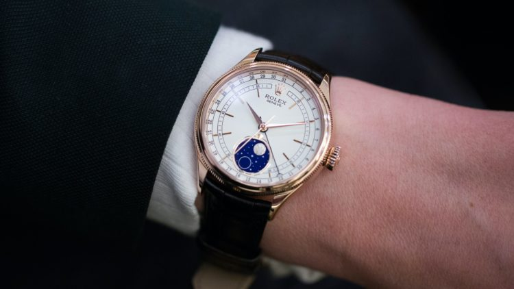 Cellini Moonphase rolex