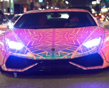 Color Changing Lamborghini