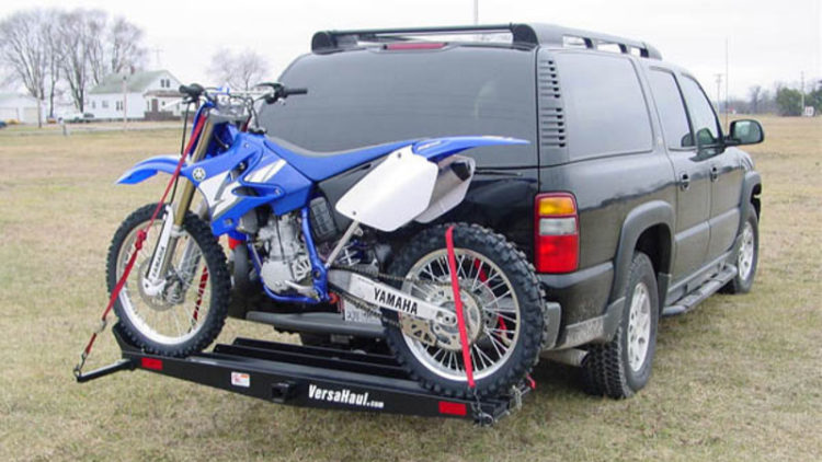 MotoGroup Double Dirt Bike or Motorcycle Trailer