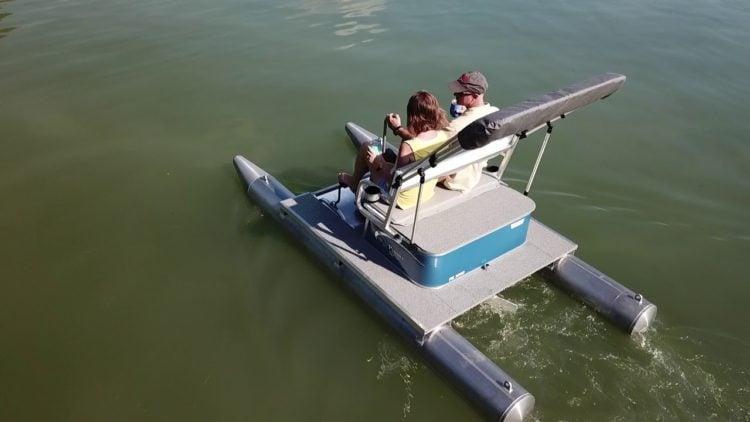 Pontoon Paddle Boat