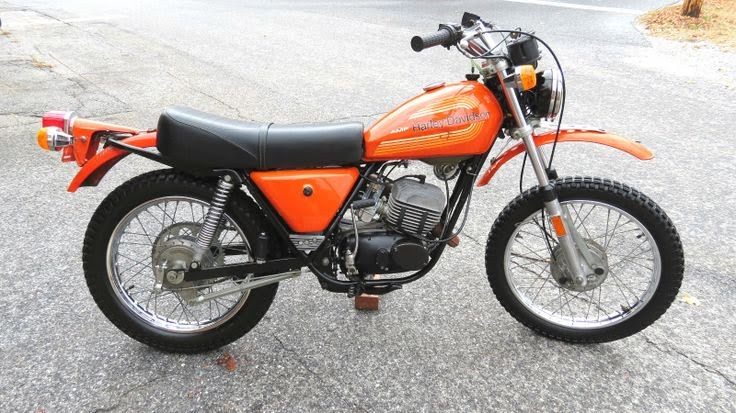 1970s Harley-Davidson SX models