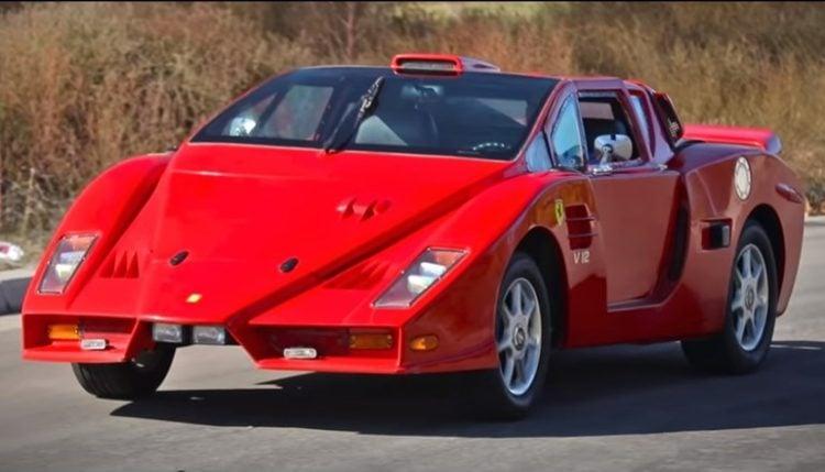 Fake Ferrari 3